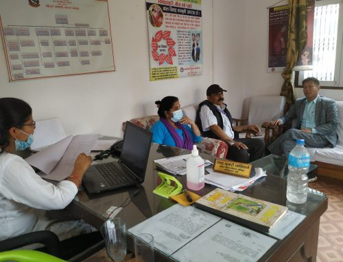 हेटौँडामा पुनर्स्थापना सेवामा साझेदारी बिषयक उपमहानगर स्तरिय बैठक सम्पन्न