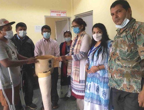 भरतपुर महानगरमा सहायक सामाग्री वितरण तथा समन्वय बैठक