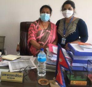 Rapti Municipality Mayor Prabha Baral